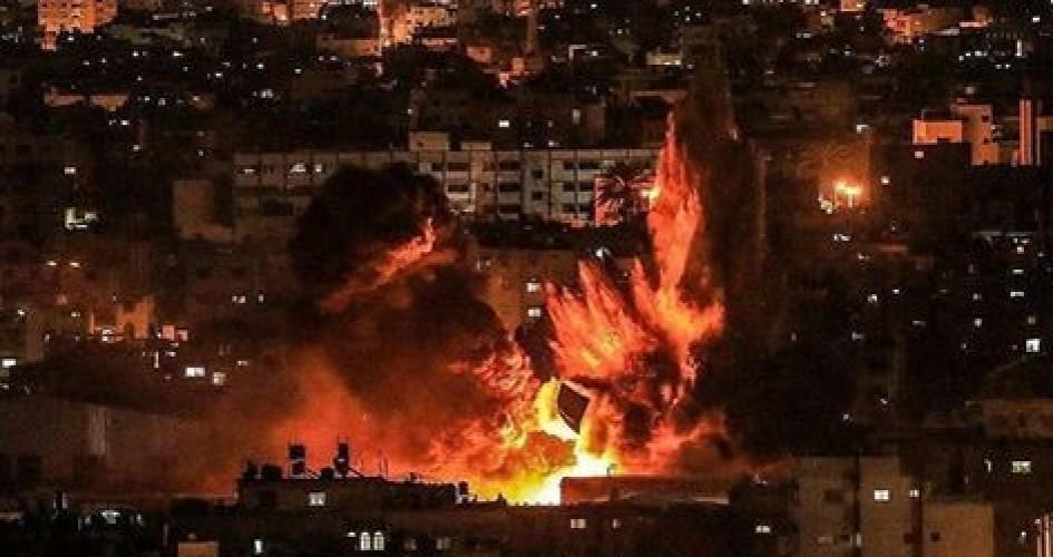 Photo of الاحتلال الإسرائيلي يستهدف مدينة قطاع غزة