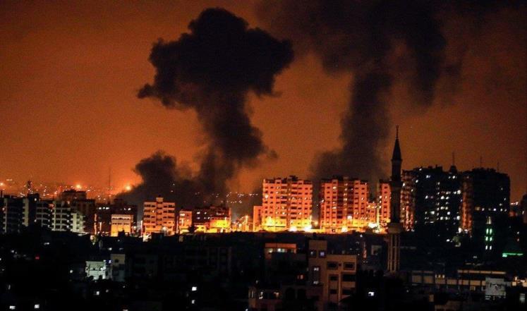 Photo of طائرات الاحتلال تقصف أهدافا لسرايا القدس